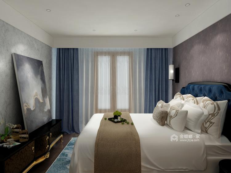 软硬装的合理搭配,重新定义轻松家庭生活-卧室效果图及设计说明