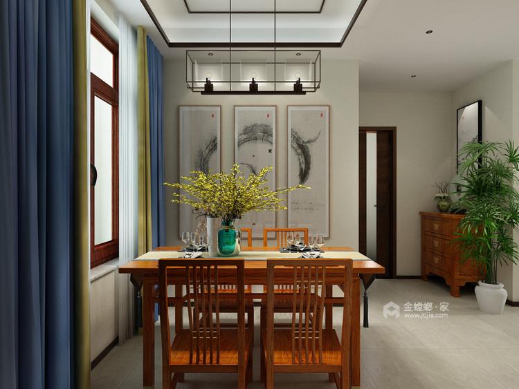软硬装的合理搭配,重新定义轻松家庭生活-餐厅效果图及设计说明