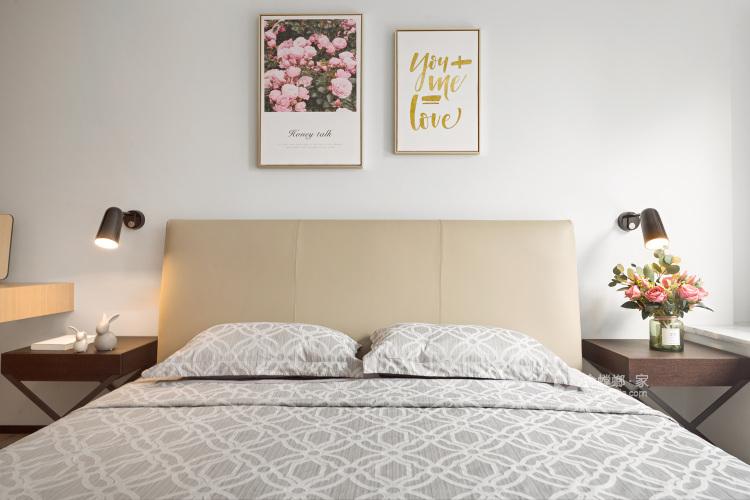 一房、两人、三餐、四季、一辈子的生活,94平北欧风-卧室效果图及设计说明