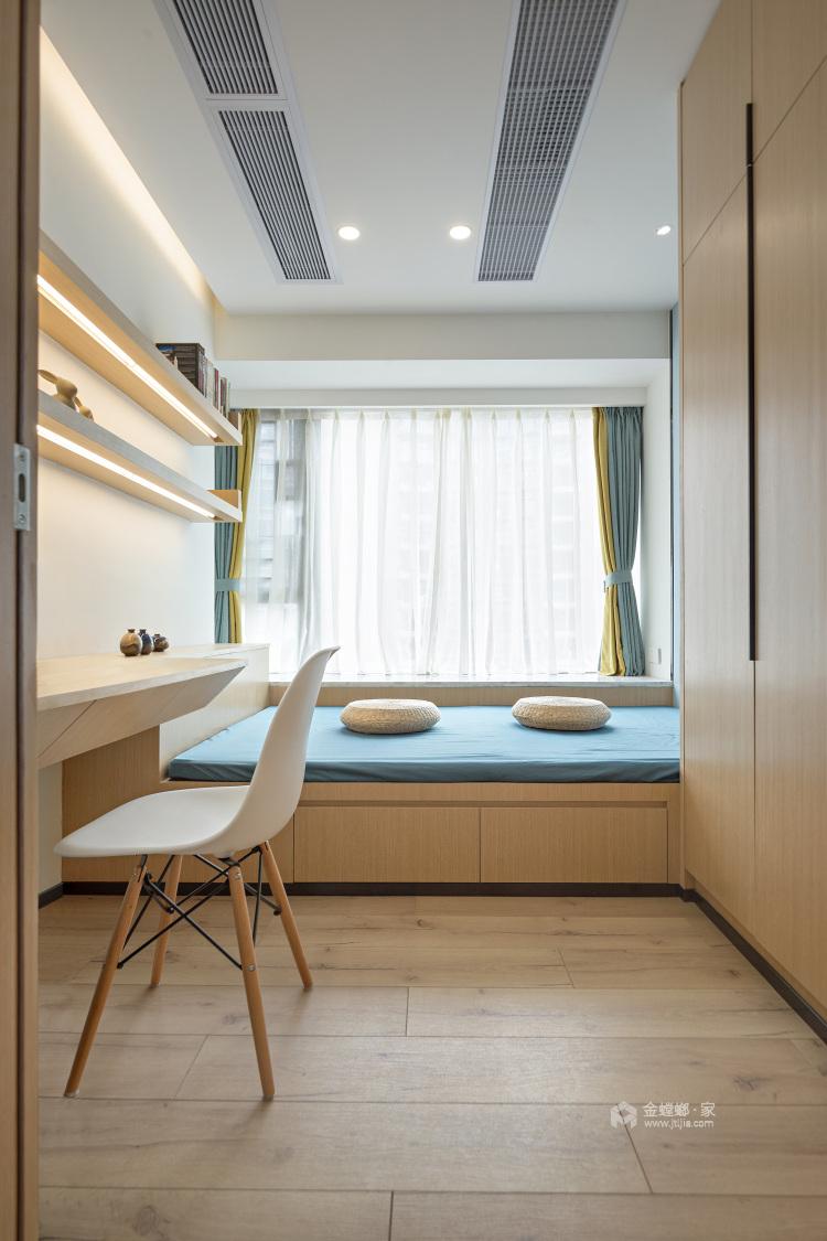 一房、两人、三餐、四季、一辈子的生活,94平北欧风-卧室