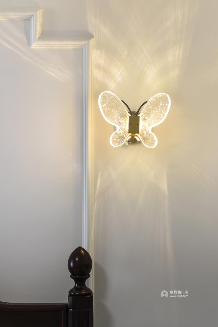 实景 200平现代美式 主打海蓝色 温馨又不失品味-客厅效果图及设计说明