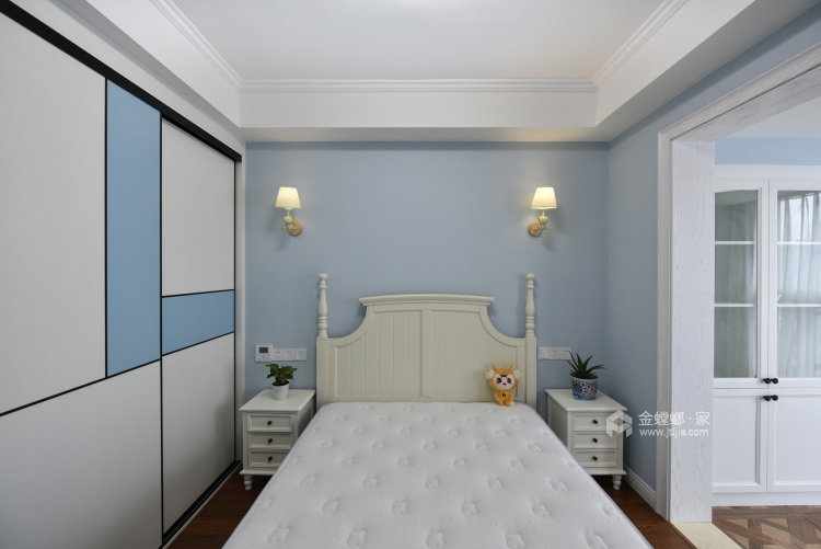 实景 200平现代美式 主打海蓝色 温馨又不失品味-儿童房