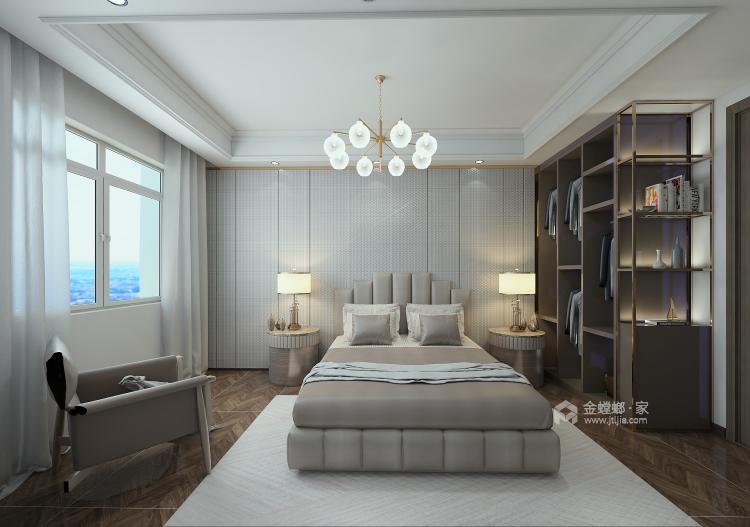 巧妙混搭的轻奢现代设计,每平方都透露出高雅范-卧室