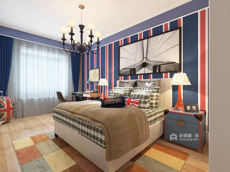 三代同堂现代风,温馨典雅的大平层-儿童房