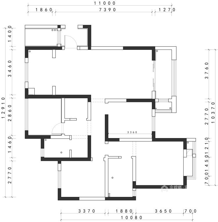 138平现代风格,不浪费角落空间-业主需求