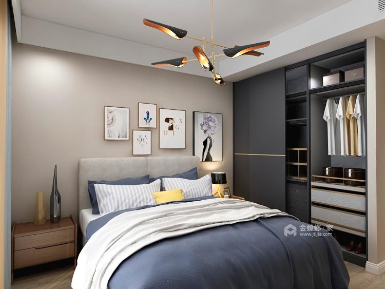138平现代风格,不浪费角落空间-空间效果图