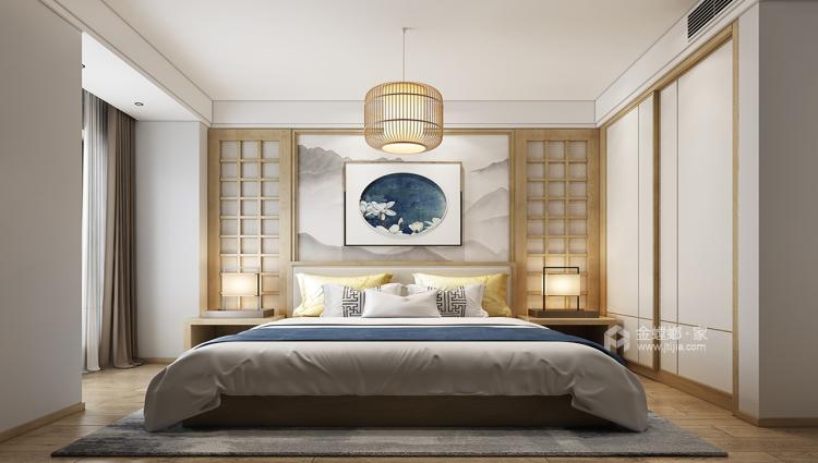220平大户型森林原木系 日式简约风格-空间效果图