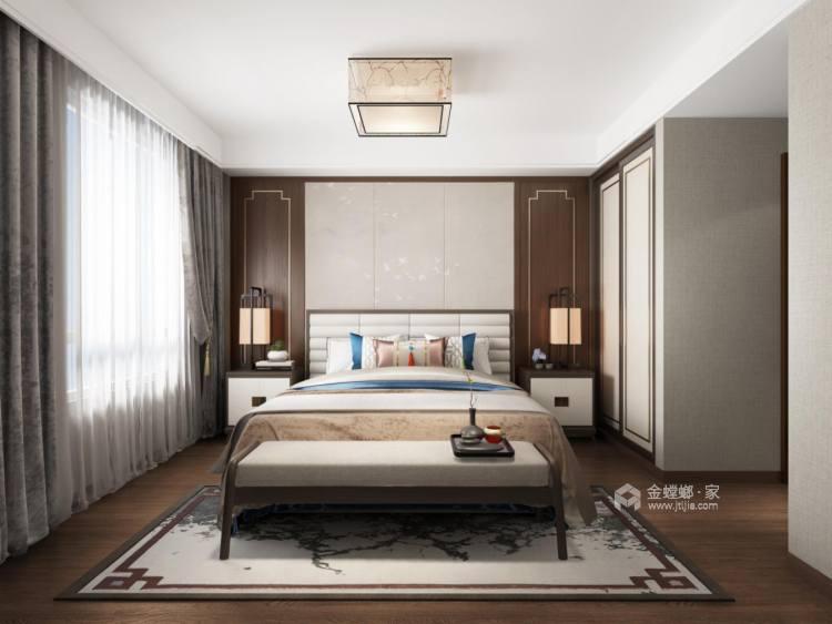 128平三房,让你感受中式典雅温馨-空间效果图