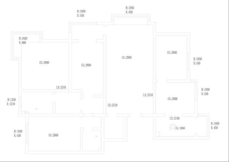 160平3居室 玫瑰金铜屏风,凸显对生活的态度-业主需求