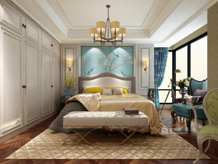 248平美式大平层,为你装饰属于你的美宅-卧室效果图及设计说明