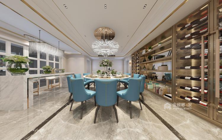 三世同堂大平层,尽享天伦之乐-餐厅效果图及设计说明