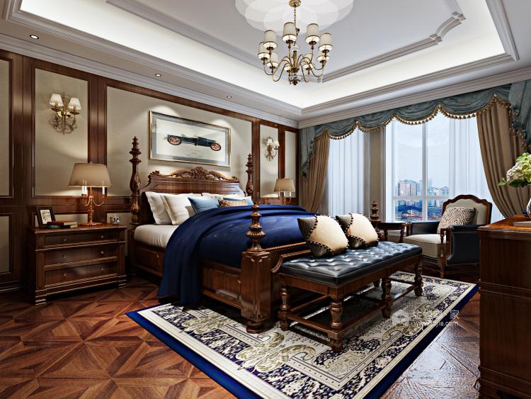 670平欧式别墅,尽享都市奢华-卧室效果图及设计说明