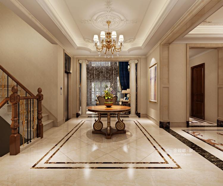 670平欧式别墅,尽享都市奢华-走廊