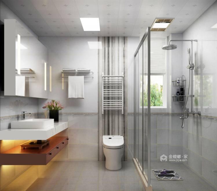 156平中式美宅,复古大方-卫生间