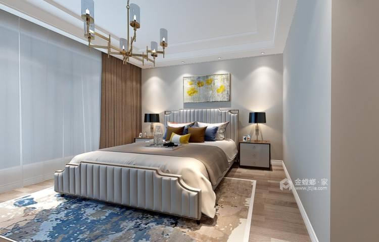 333平复式别墅,浓浓的现代风情-卧室效果图及设计说明