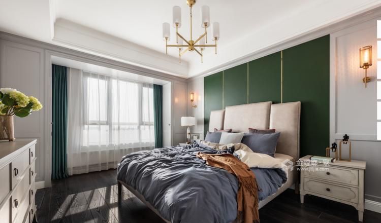 120平现代三居,温馨精致的小屋-卧室效果图及设计说明