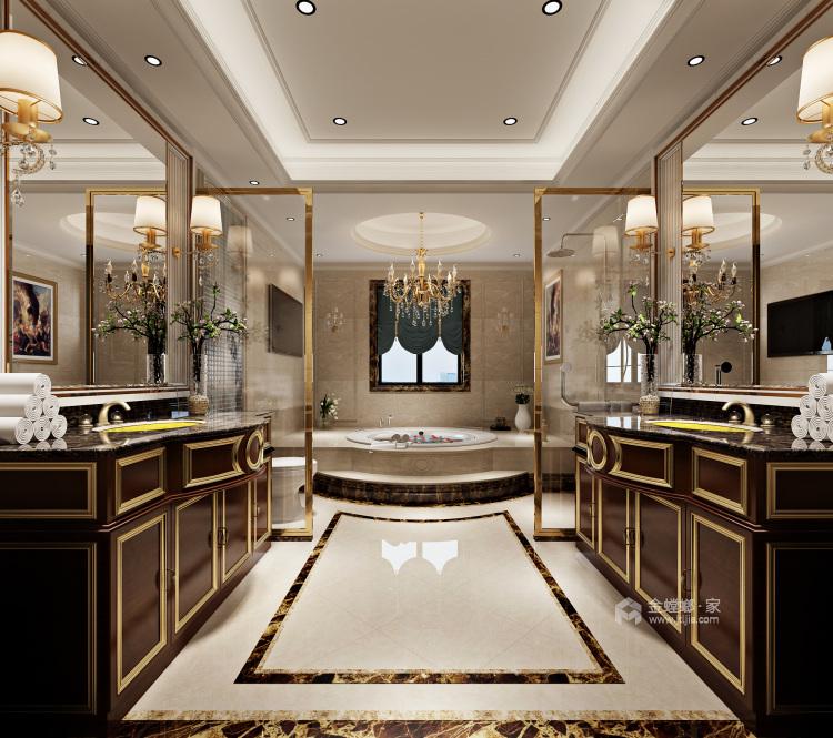 670平欧式别墅,尽享都市奢华-卫生间