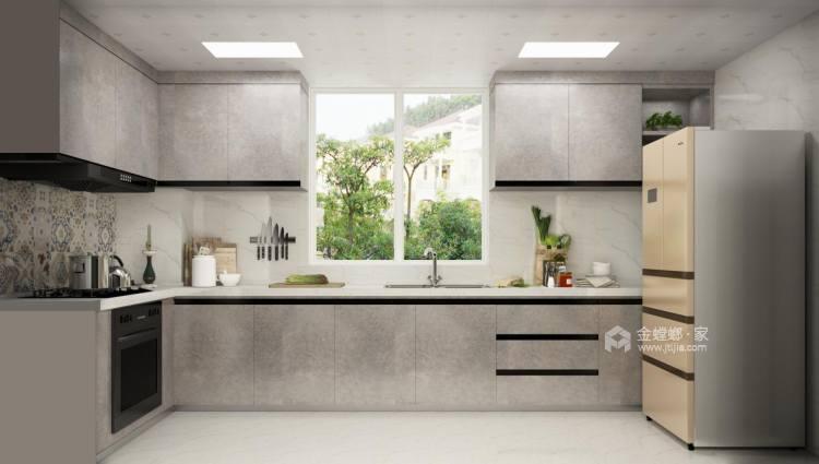 156平中式美宅,复古大方-厨房