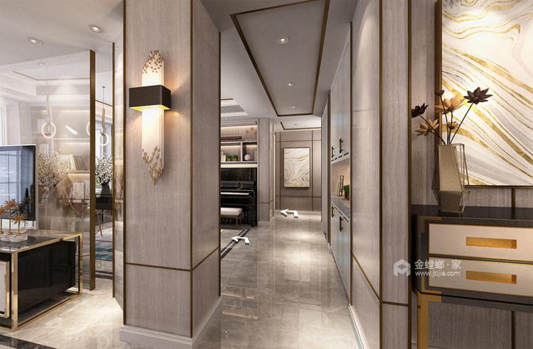 浓墨淡彩现代风,满足你心中对于家的想象-走廊