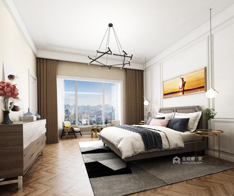 480平北欧风别墅,闹中取静简约风-卧室效果图及设计说明