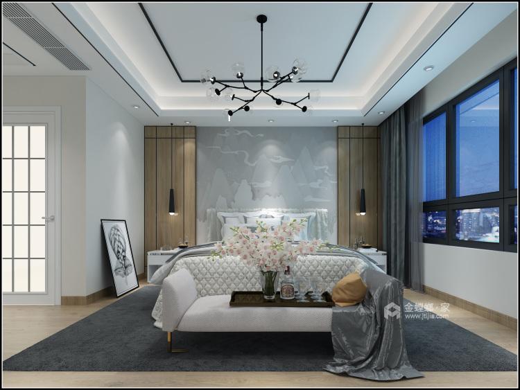 153平美宅,简约的现代美学-卧室效果图及设计说明