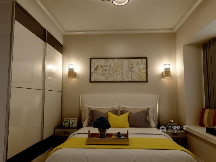 三居北欧风,父母就喜欢这样简约的风格-卧室效果图及设计说明