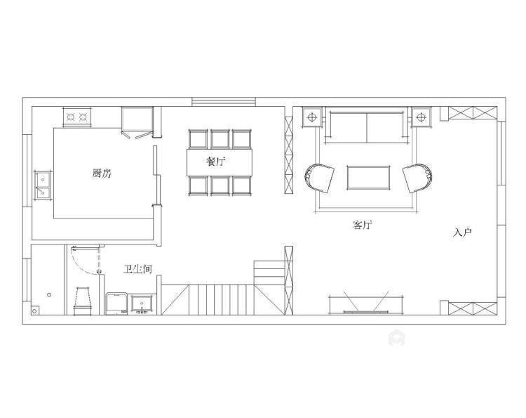 220平新中式别墅,优雅而又大气-平面设计图及设计说明