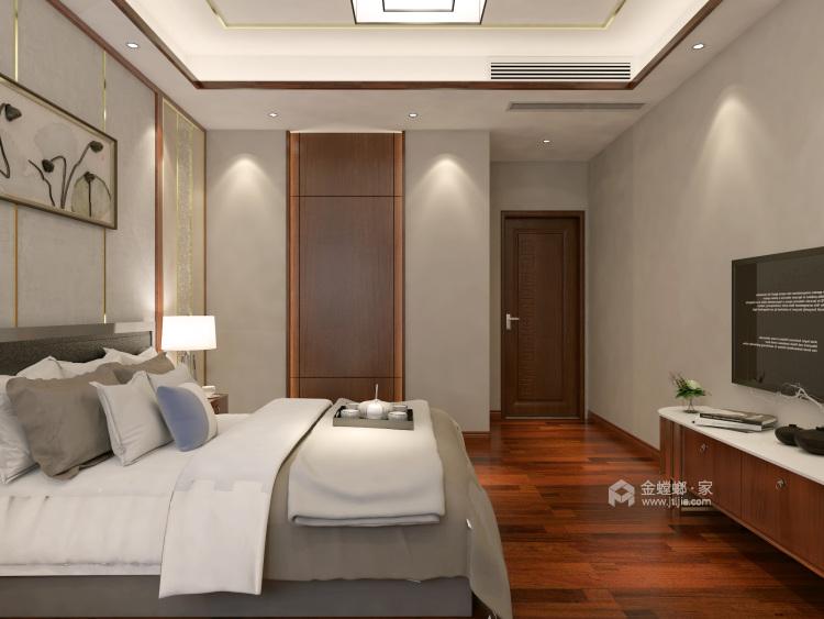 这样美的新中式,什么标题都配不上你!-卧室效果图及设计说明