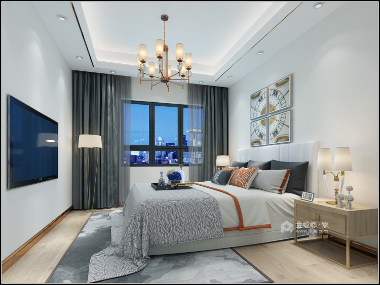 153平美宅,简约的现代美学-卧室