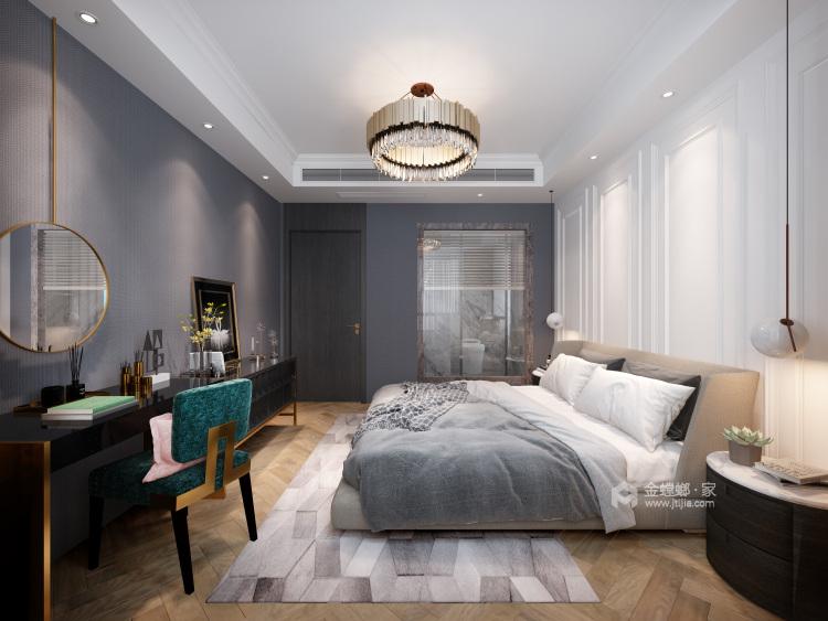 现代+高级灰+轻奢 最理想的家就是这样-卧室效果图及设计说明