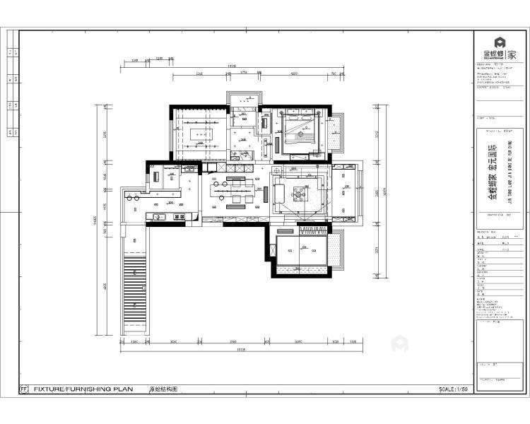 现代+高级灰+轻奢 最理想的家就是这样-平面设计图及设计说明