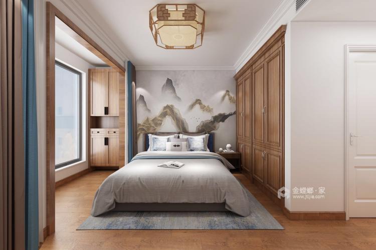 220平新中式别墅,优雅而又大气-卧室效果图及设计说明