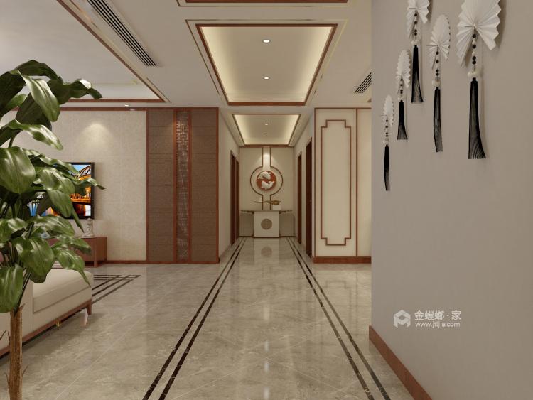 这样美的新中式,什么标题都配不上你!-走廊