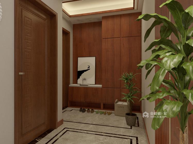 这样美的新中式,什么标题都配不上你!-客厅效果图及设计说明