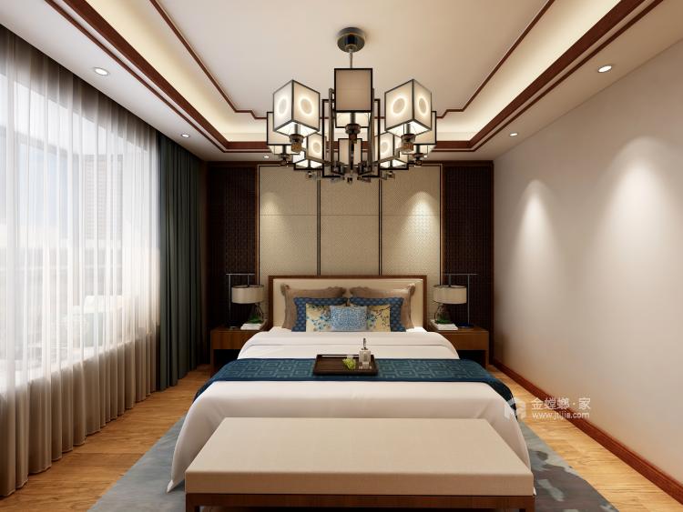 177平纯中式风-卧室效果图及设计说明