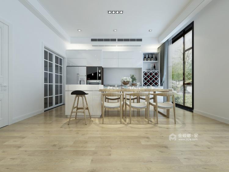 现代简约,享受生活带来的美好-餐厅效果图及设计说明