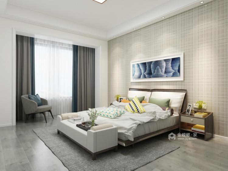 现代简约,享受生活带来的美好-卧室效果图及设计说明