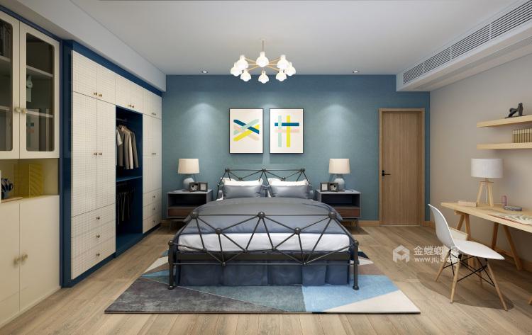 轻松享受自由风-卧室效果图及设计说明