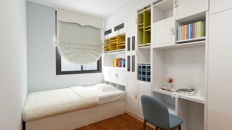 白色系欧式风格,我是心动了!-卧室效果图及设计说明