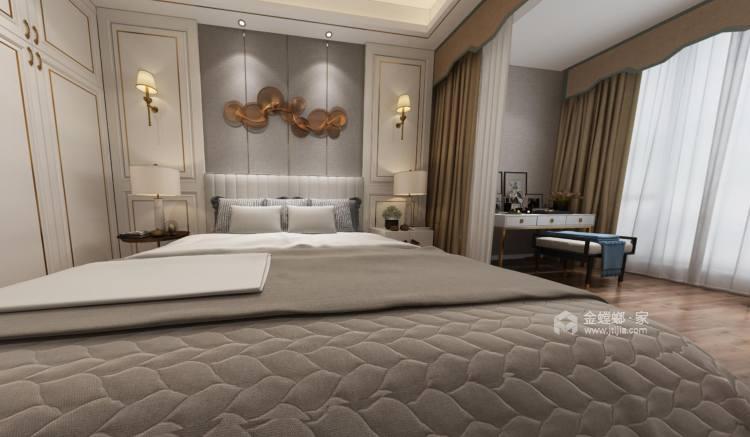 300㎡欧式别墅,低调中的奢华-卧室效果图及设计说明