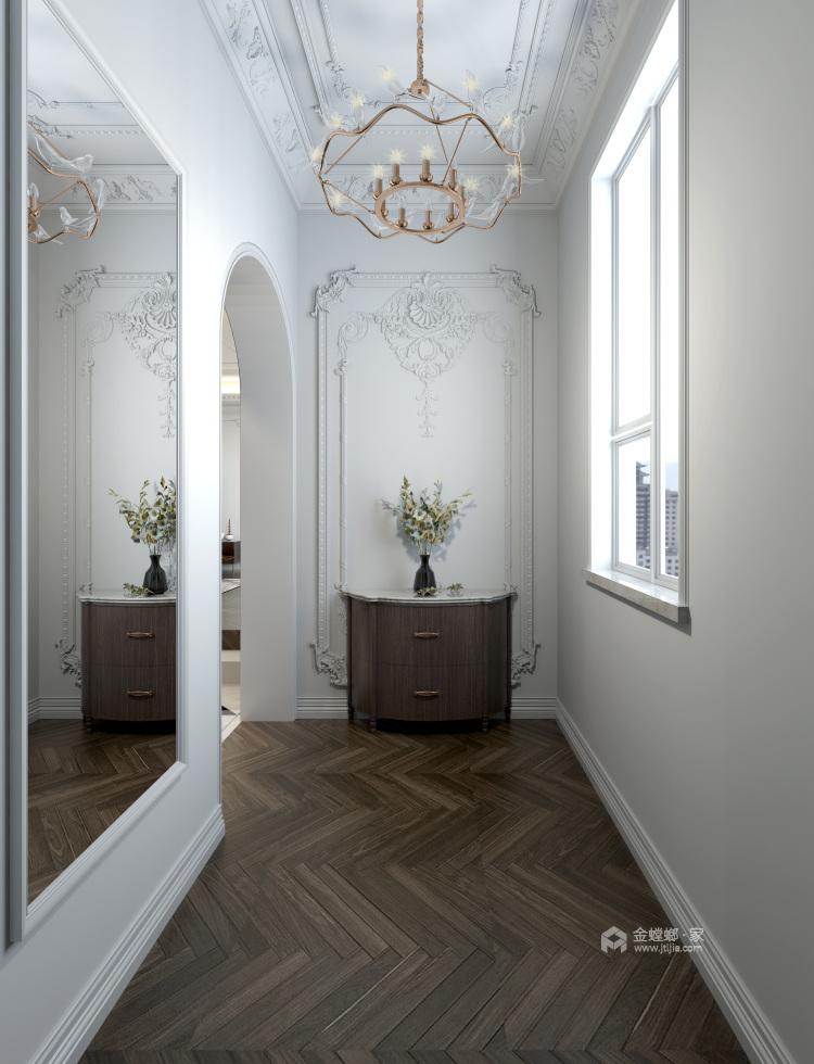 白色复古欧式,做维多利亚时代的公主-玄关