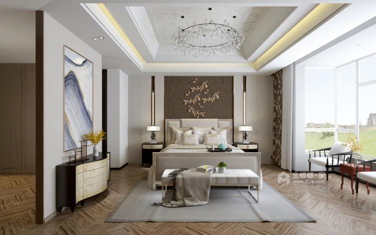青年企业家的芝兰之室-卧室效果图及设计说明