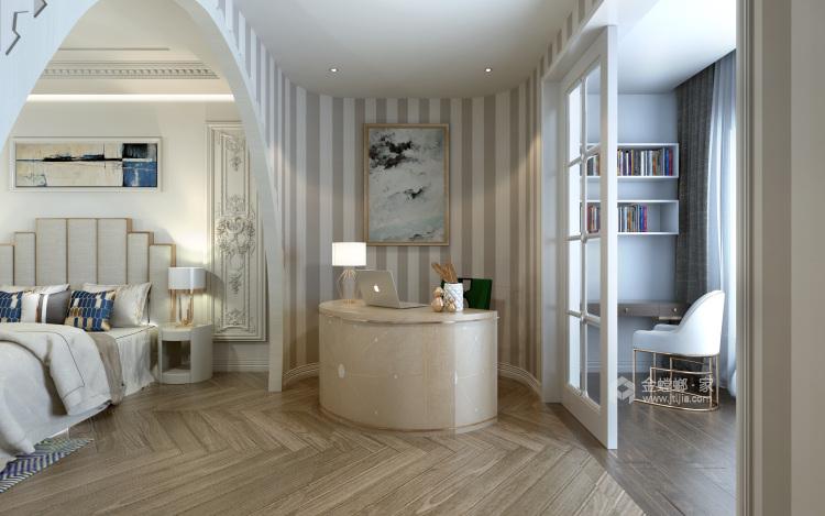 白色复古欧式,做维多利亚时代的公主-卧室效果图及设计说明