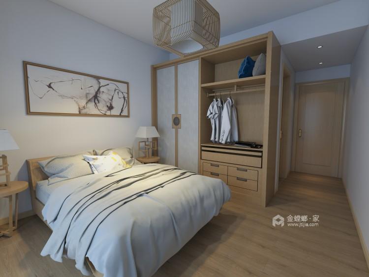 清新自然的日式风格彰显独特品味-卧室效果图及设计说明