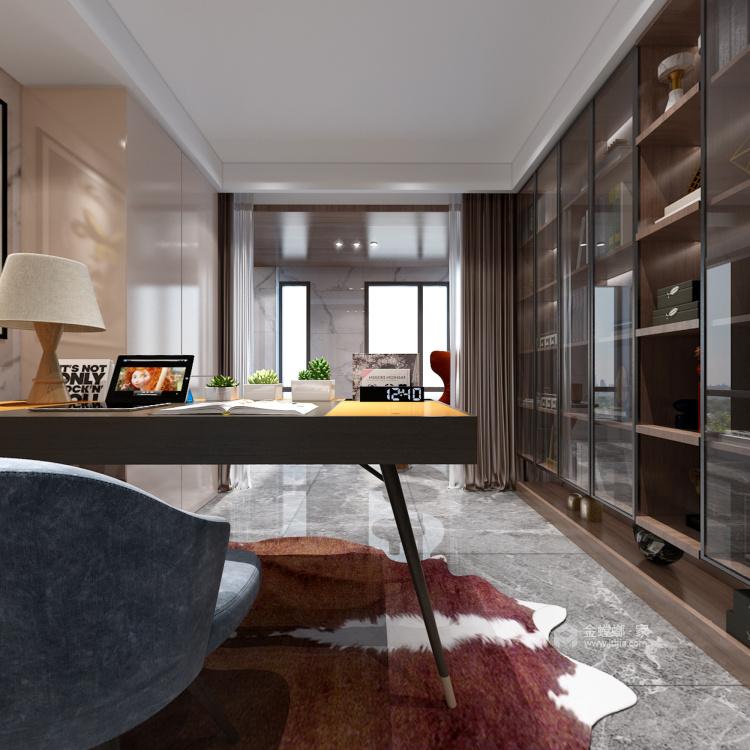 157平现代轻奢,是对生活品质的精益求精-餐厅效果图及设计说明