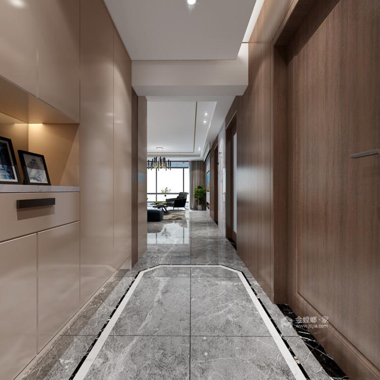 157平现代轻奢,是对生活品质的精益求精-走廊