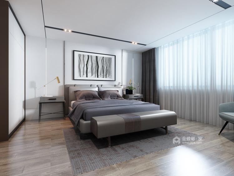 轻奢韵味之家 186平米美式大宅-卧室效果图及设计说明