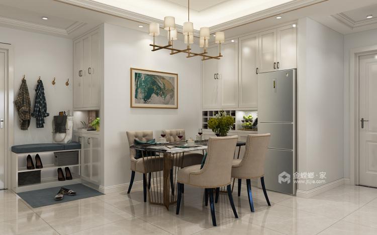美出新境界,追求现代的整洁、干净之美-餐厅效果图及设计说明