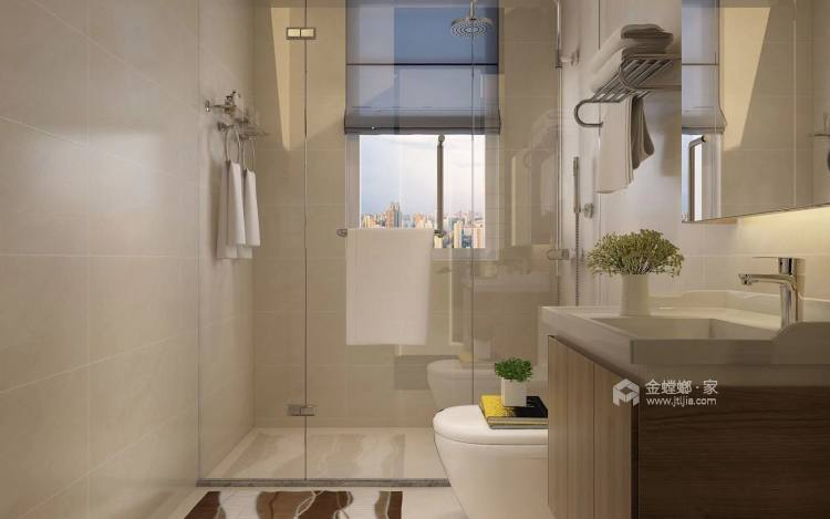 美出新境界,追求现代的整洁、干净之美-卫生间