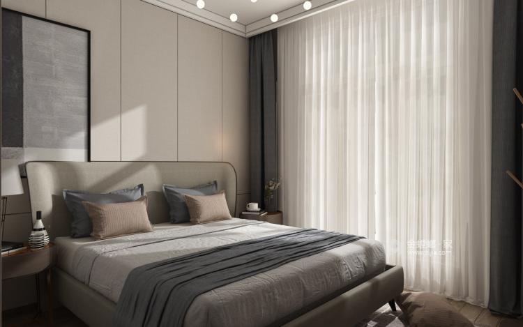 美出新境界,追求现代的整洁、干净之美-卧室效果图及设计说明
